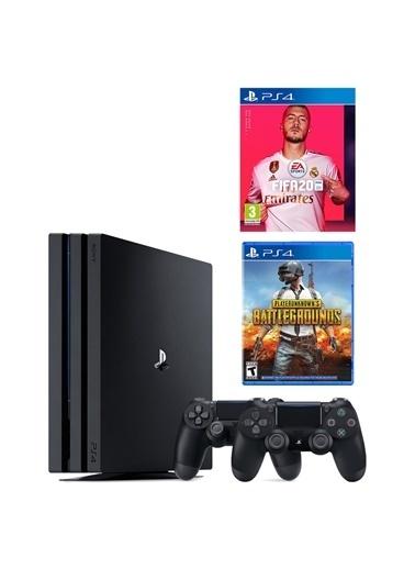 Sony Ps4 Pro 1 Tb Oyun Konsolu + 2. Ps4 Kol + Ps4 Fıfa 2020 + Pubg Renkli